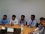 Visit of John Fyfe, Distributor Sales Manager, Gardner Denver to Islamabad Office