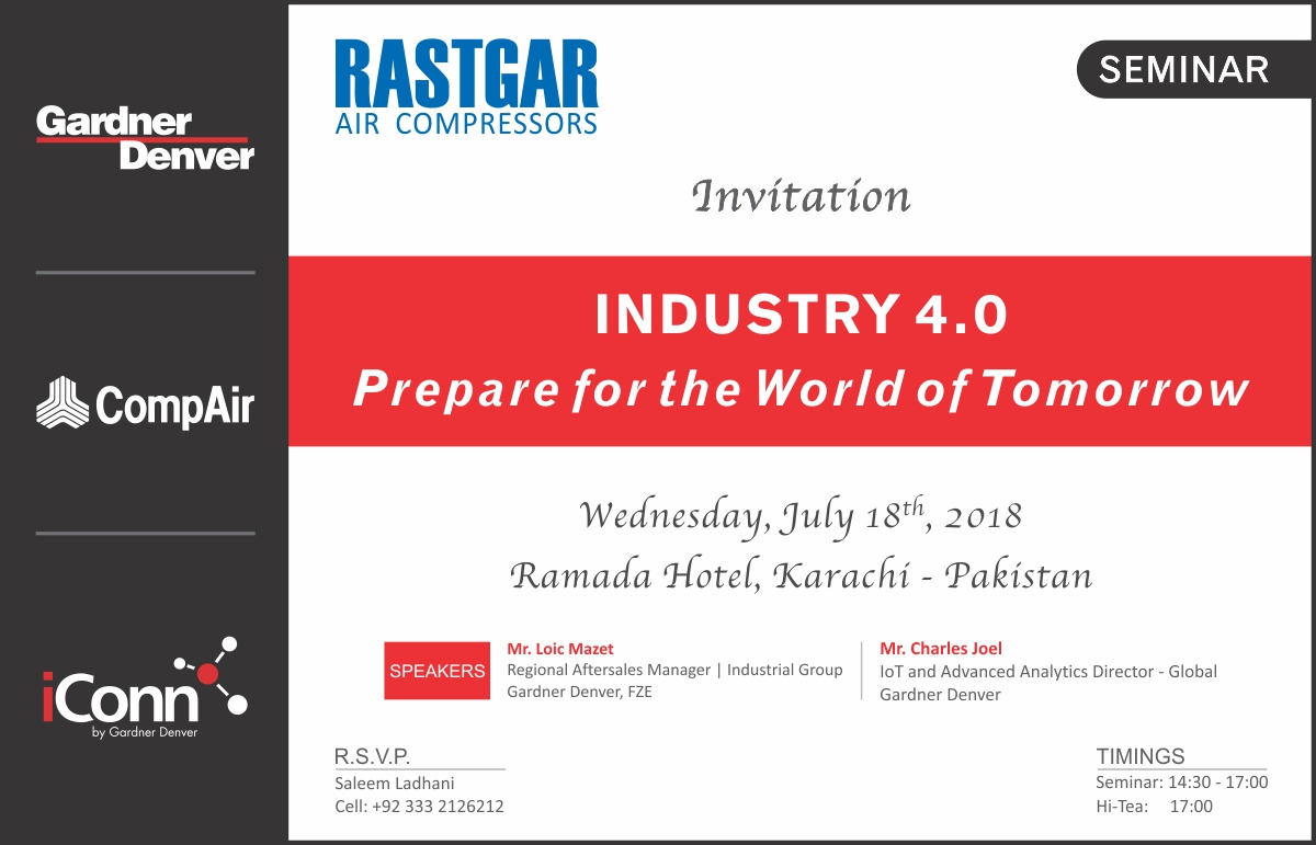 Industry 4.0 Prepare for the World of Tomorrow - Rastgar Air Compressors